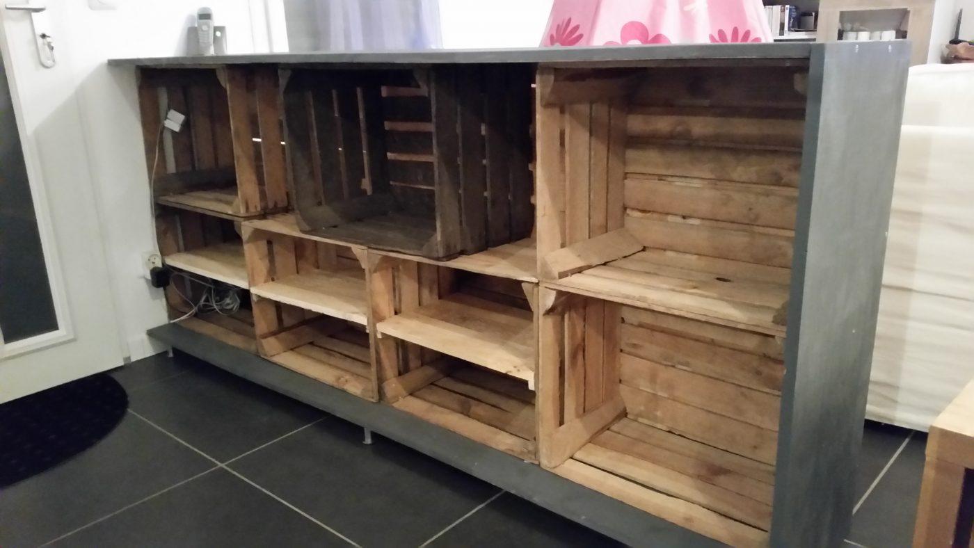 Deco Avec Des Caisses De Pommes meuble chaussures palette caisse à pommes (blog zôdio)
