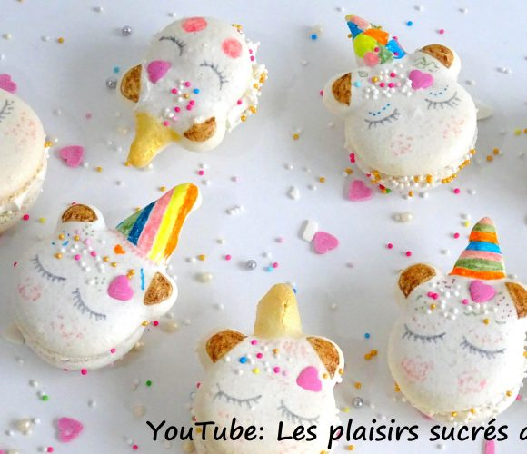 Mes Macarons Licorne