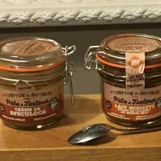J'ai testé pour vous pâtes à tartiner SPECULOOS & LAIT NOISETTE - Le Comptoir de Mathilde