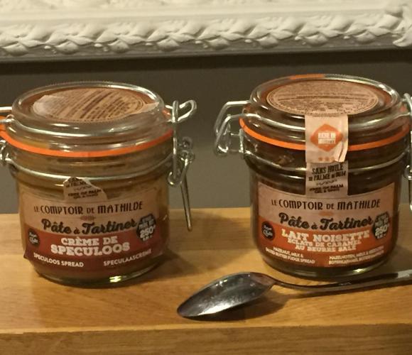 J'ai testé pour vous pâtes à tartiner SPECULOOS & LAIT NOISETTE – Le Comptoir de Mathilde