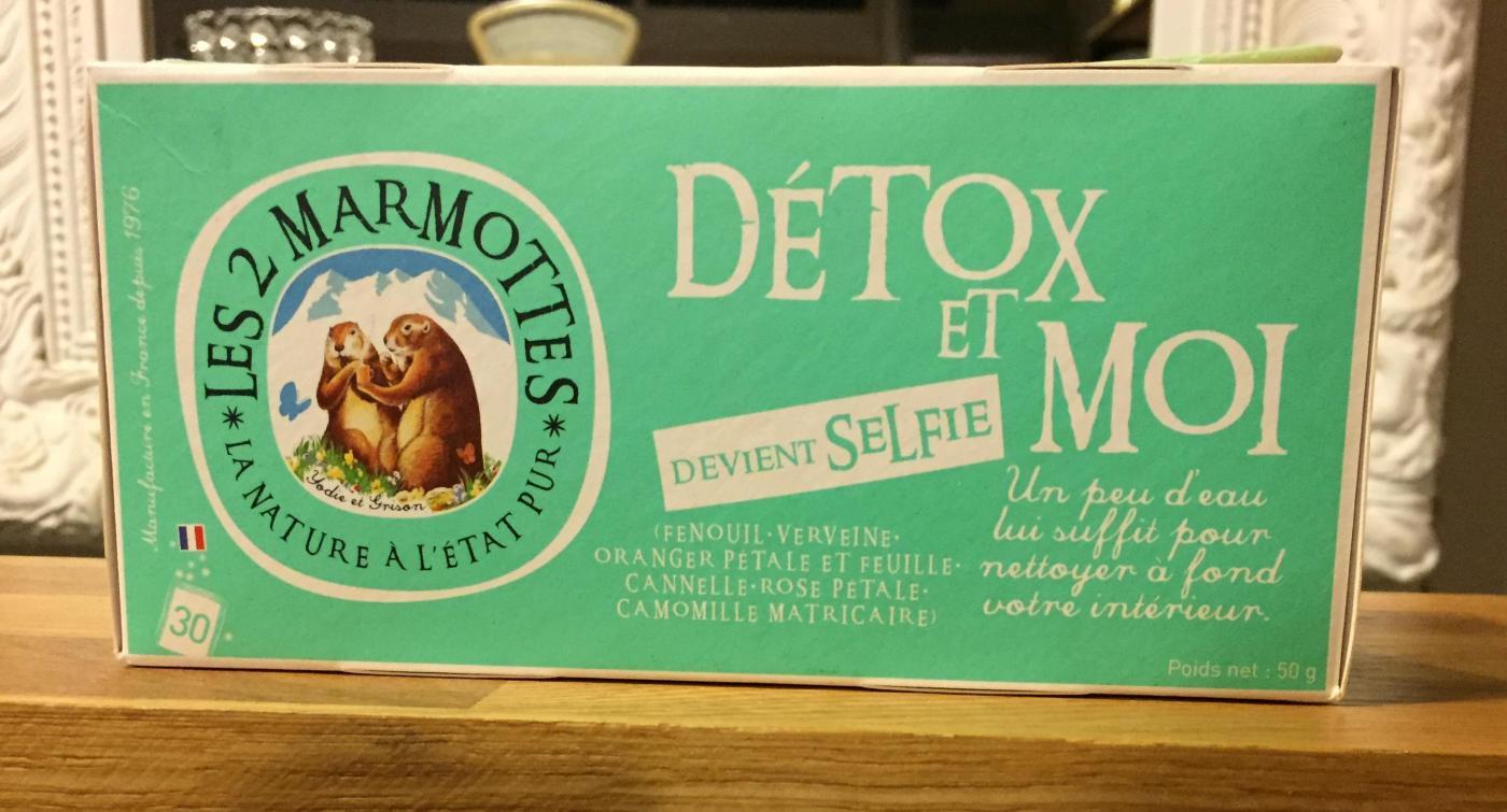 J'ai testé pour vous infusion Détox et Moi / Selfie - Les 2 marmottes