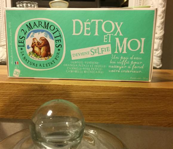 J'ai testé pour vous infusion Détox et Moi / Selfie – Les 2 marmottes