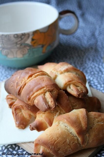 Croissants Bio, sans gluten, oeufs......