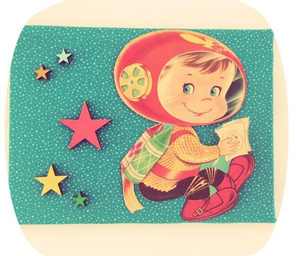 Astronaute vintage
