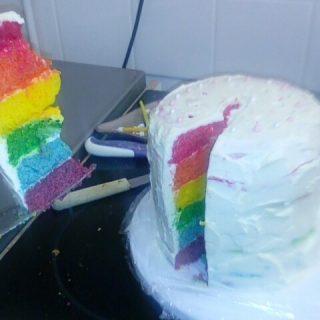 The RAINBOW CAKE