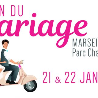 Venez nous rencontrer au Salon du Mariage à Marseille !
