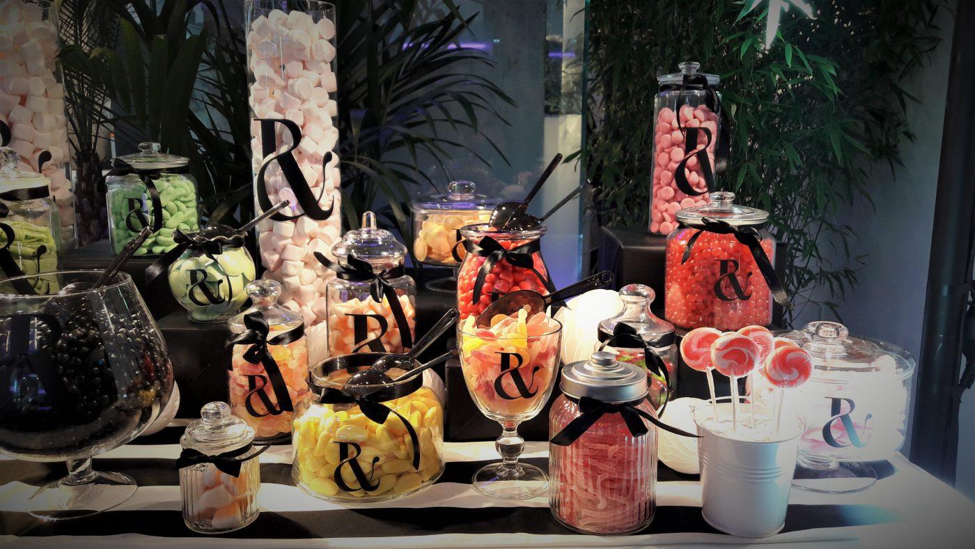 Candy Bar pour le défilé Haute Couture Ralph & Russo