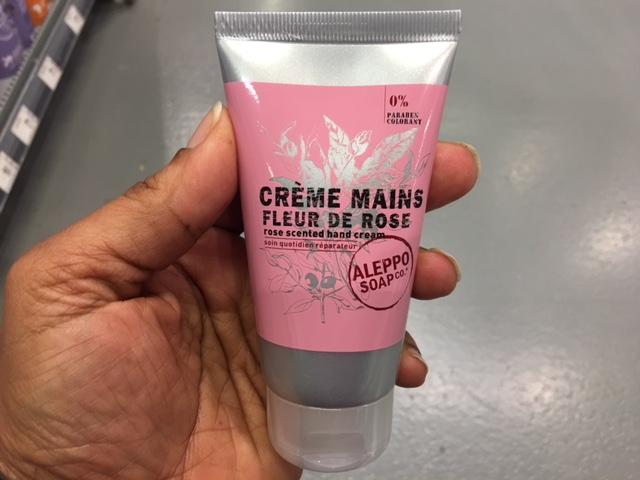 J'ai testé pour vous la Crème Mains Fleur de Rose
