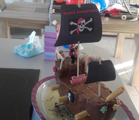 Gateau Anniversaire Bateau Pirate