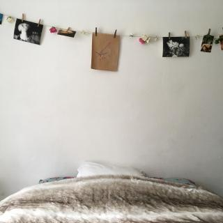 Guirlande photos fleurie