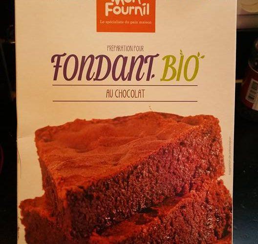 J'ai testé pour vous la préparation pour Fondant Bio au Chocolat, sans gluten !