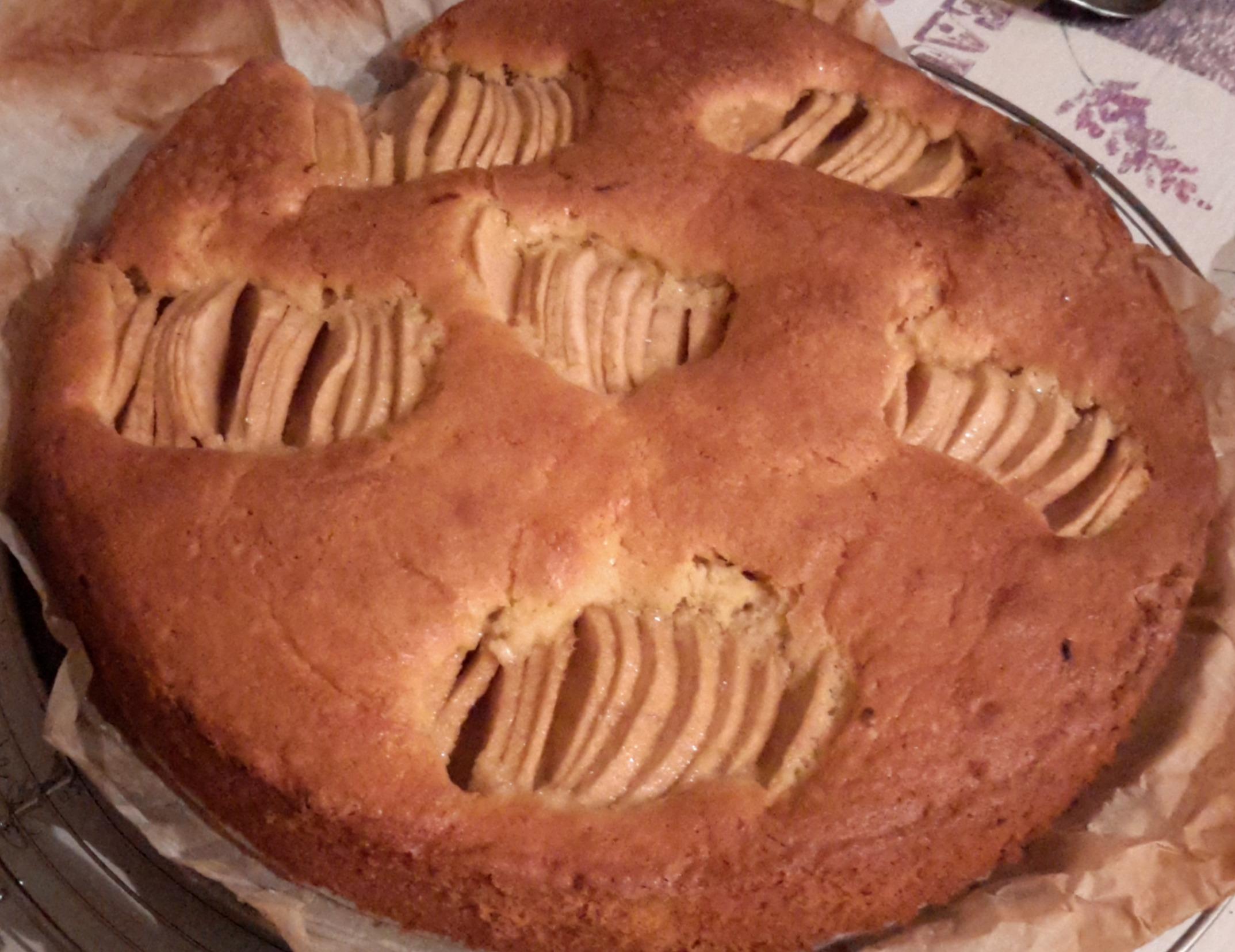 Gâteau aux pommes allemand!