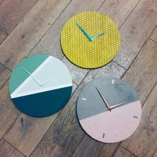 Il est temps de vous faire votre propre Horloge DIY!!!