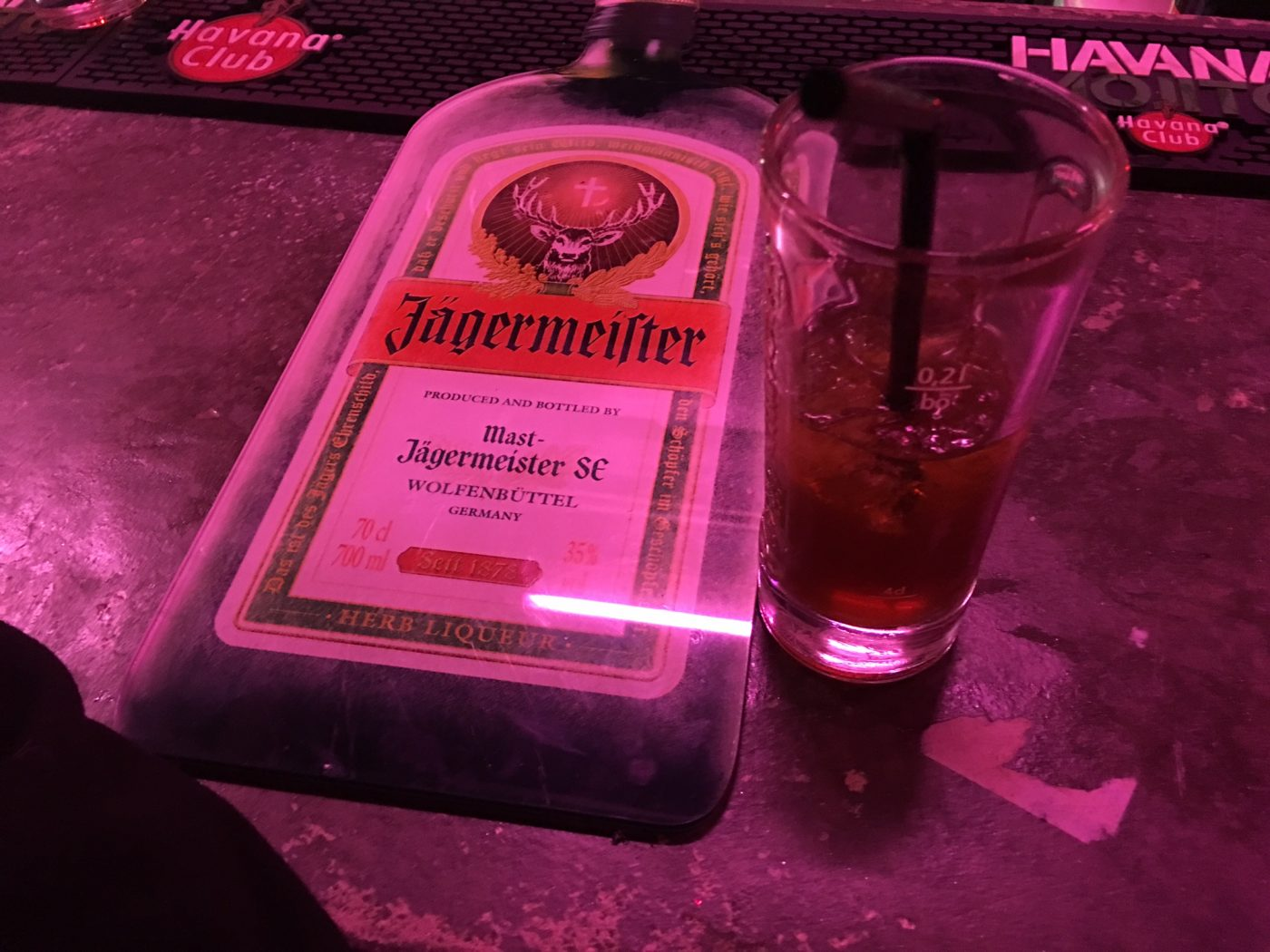 Le cocktail du mois : JagerStag
