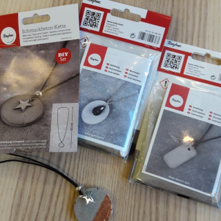 Kit bijoux en béton