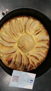 Léger de pomme au fromage blanc