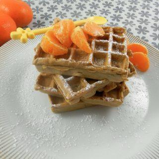 Pâte à gaufre végétalienne