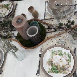 La table de Pâques Nature