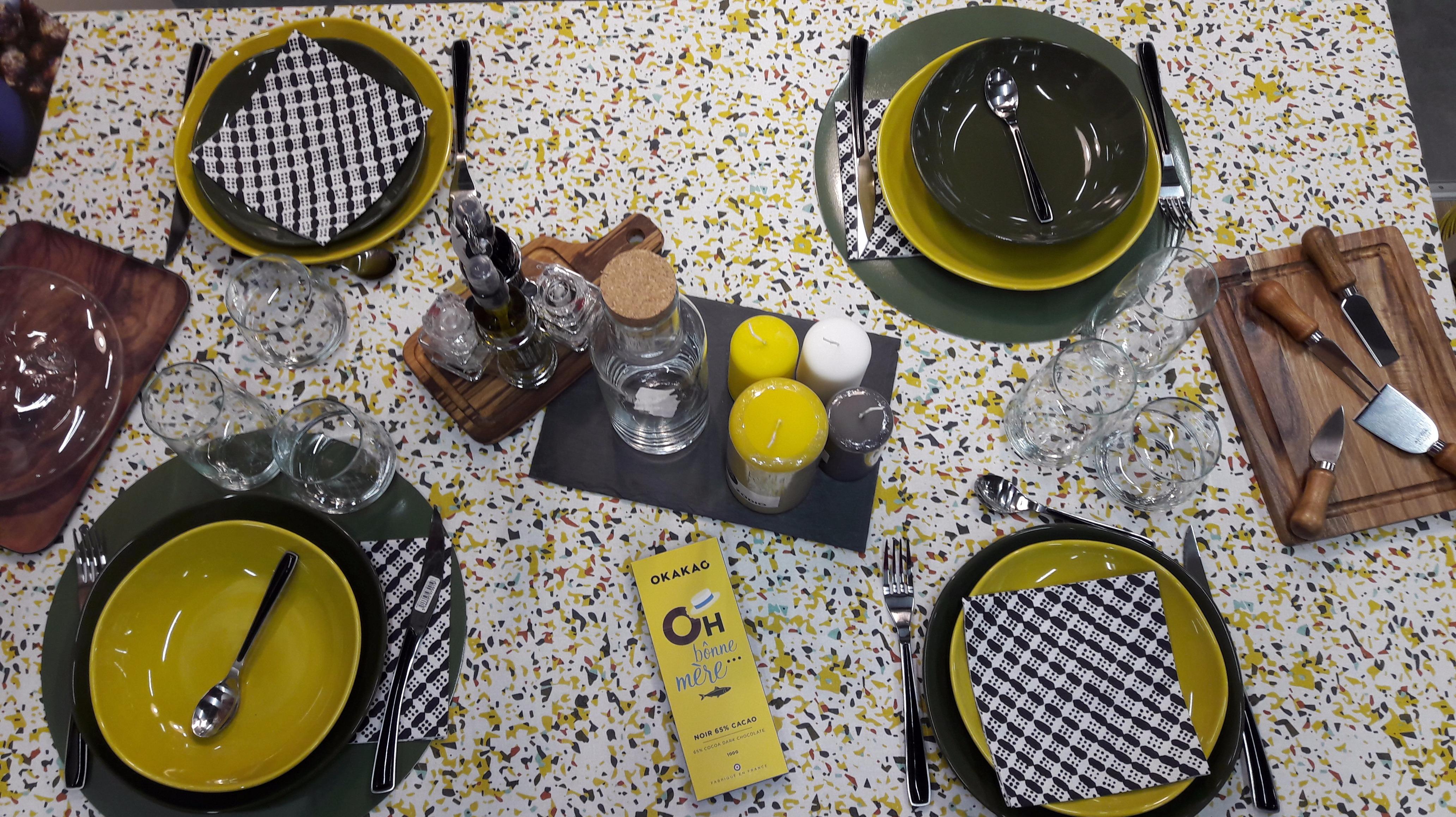 La table terrazzo