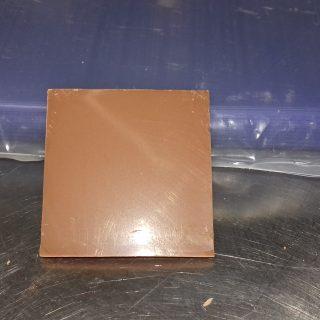 Carrés chocolat pour decor d entremets
