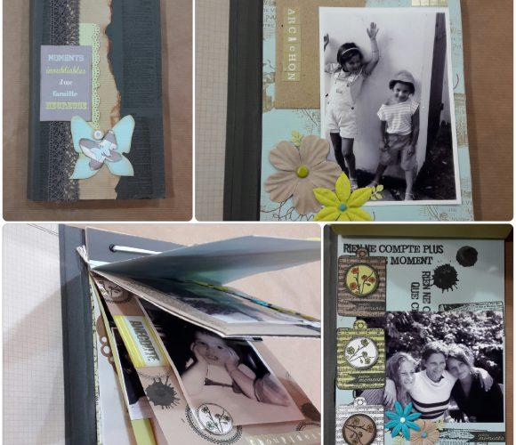 Réalisez votre projet de scrapbooking à l'atelier animé par une de nos ambassadrices