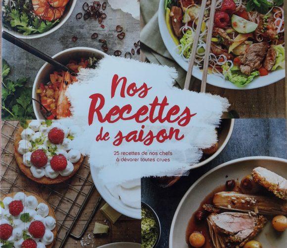 J'ai testé pour vous  «Nos recettes de saison» réalisé par les chefs d'atelier Zôdio