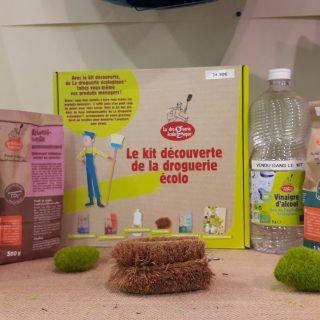 Ménage de printemps : le kit découverte de la droguerie Ecolo !
