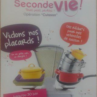 Opération cuisson Seconde Vie!