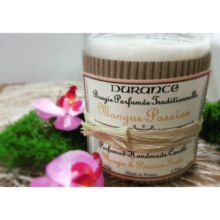 J'ai testé pour vous la bougie parfumée Mangue Passion de chez Durance