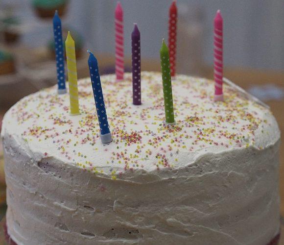 Rainbow Cake pour les 8 ans de ma princesse