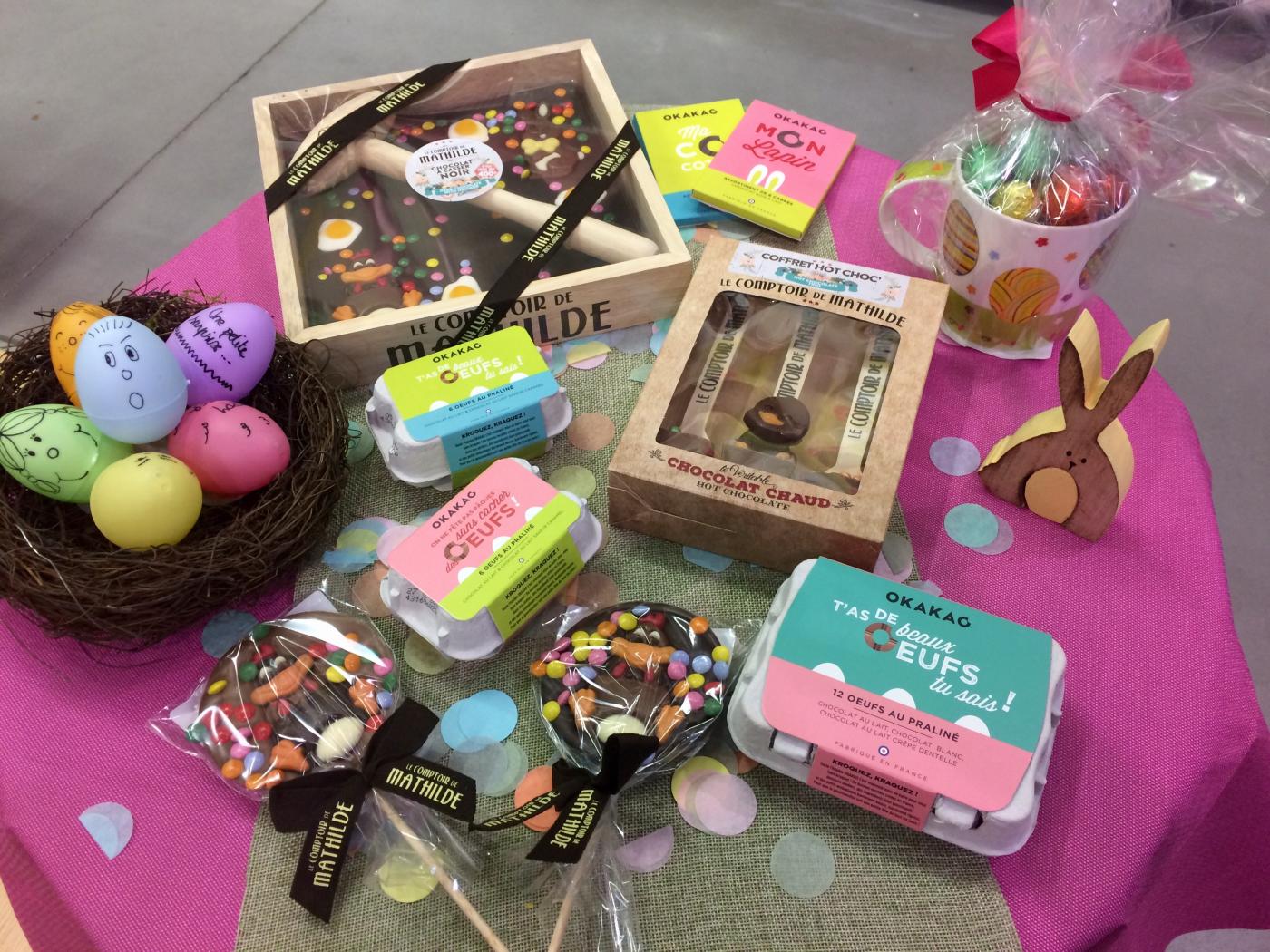Oeufs, lapins, poussins, cocottes ... bientôt Pâques !!!