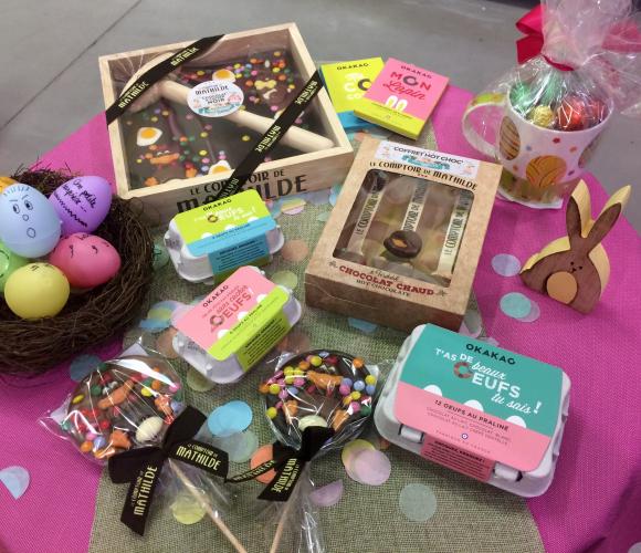Oeufs, lapins, poussins, cocottes … bientôt Pâques !!!