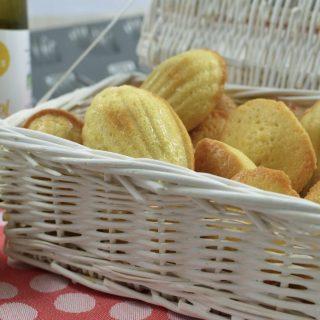 Mes madeleines au citron
