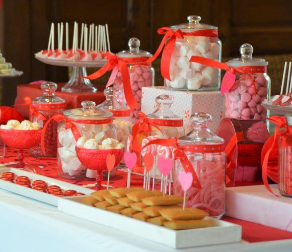 Studio Candy fête la Saint Valentin avec un joli Candy Bar
