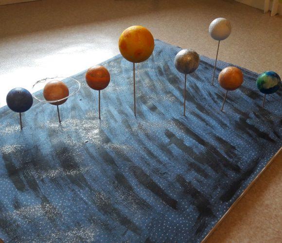 Systeme solaire d'après Nathan et Edouard…..