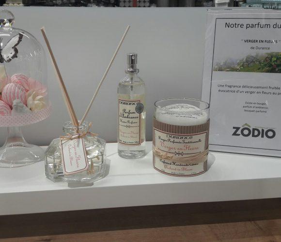 Parfum du mois chez Durance «verger en fleurs «