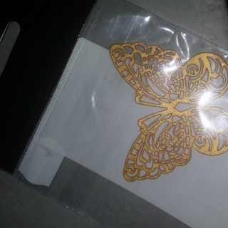 J'ai testé pour vous papillon en dentelle comestible