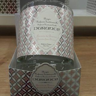 J'ai testé pour vous la bougie parfumée DURANCE senteur JASMIN DE GRASSE