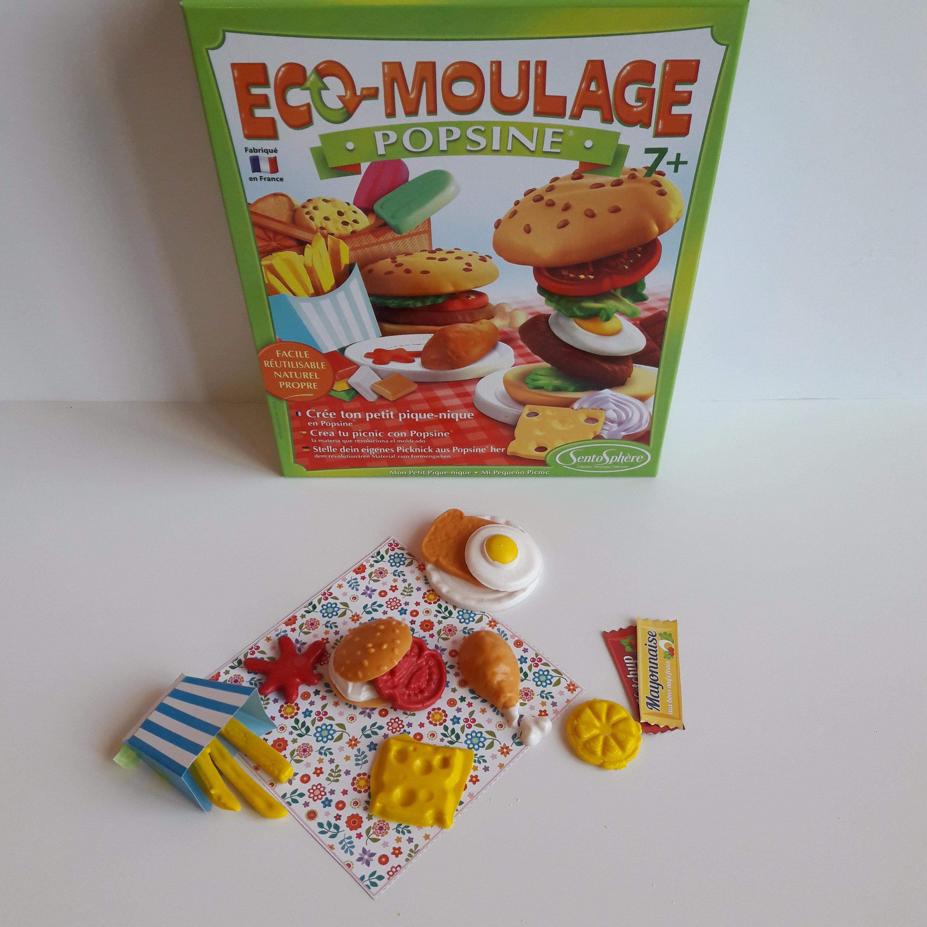 J'ai testé pour vous l'éco-moulage «popsine» crée ton pique-nique