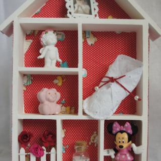 Maisonnette  chambre de bébé