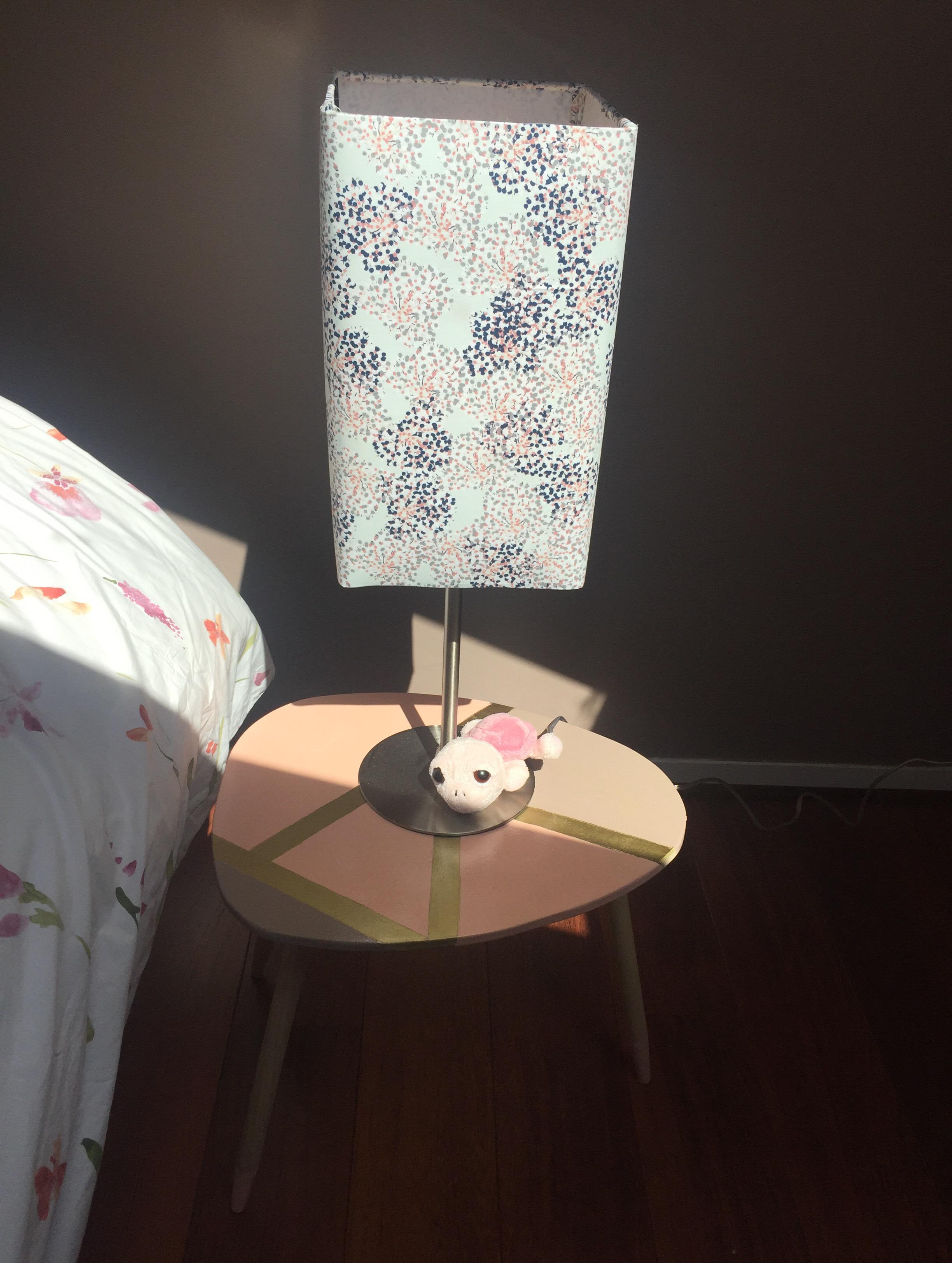 Mes nouvelles tables de chevet