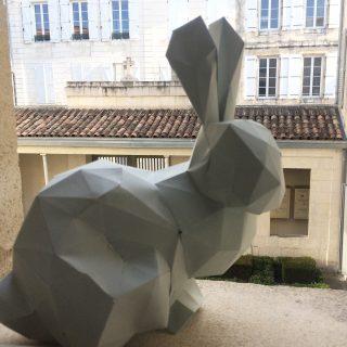 Le lapin de Pâques en Origami