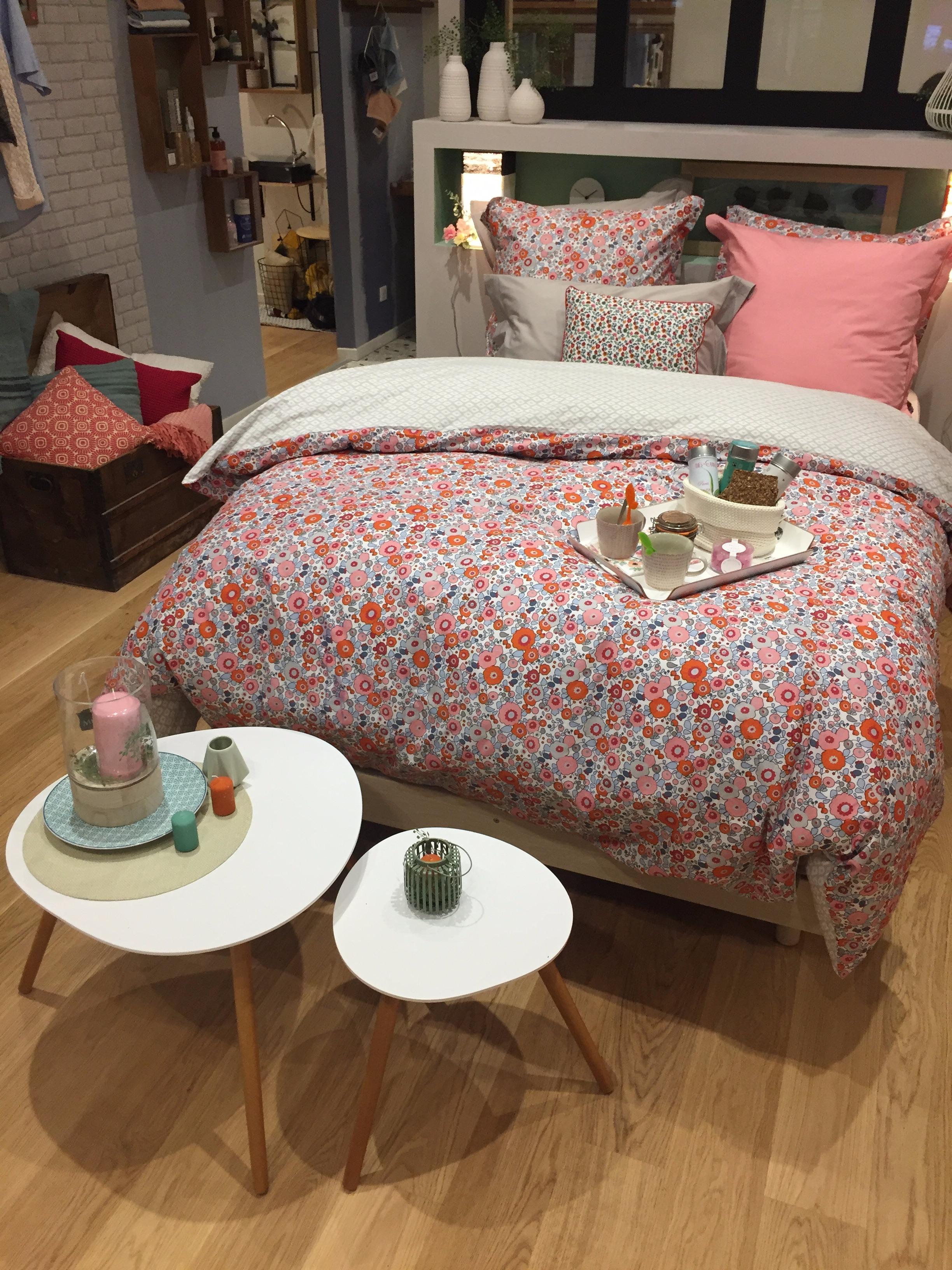 Ma chambre parentale «Milles Floris» / Déclic mars/avril 2017
