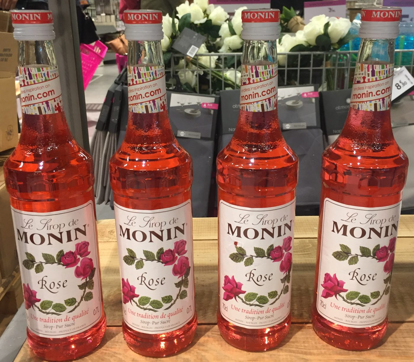 Recette cocktail sirop monin rose
