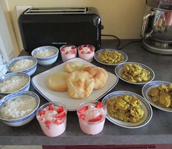 Atelier de cuisine indienne