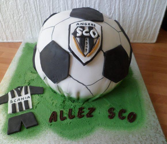 Gâteau SCO d'Angers