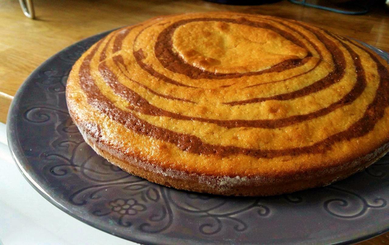Zebra Cake super facile