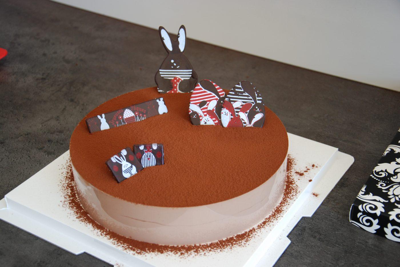 Gâteau de pâques facile, le royal au chocolat