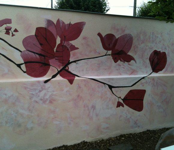 peinture mur intérieur
