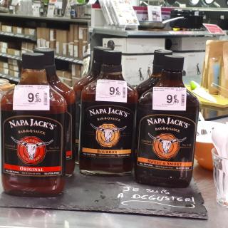 J'ai testé pour vous ... les sauces barbecue Napa Jack's